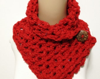 Fashion Neck warmer Acrylic With Color Spots One Only