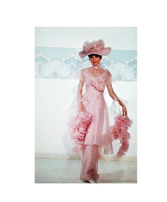 Pageant Costume Hollywood Classic My Fair Lady iconic Pink
