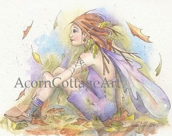 "Fairy print ""Faye"" 8x10"