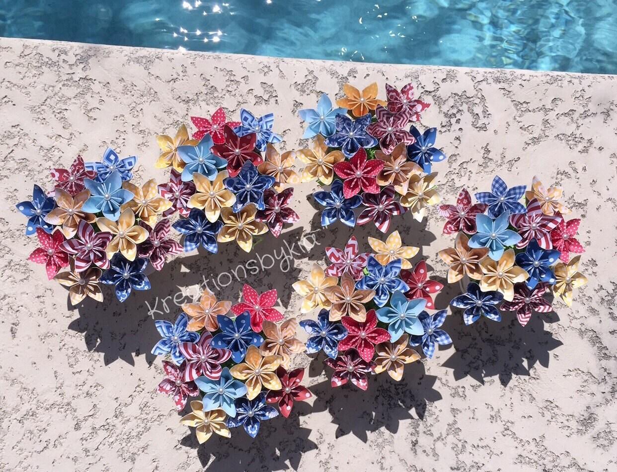 Only primary kusudama origami flower bouquetflower zoom jeuxipadfo Gallery