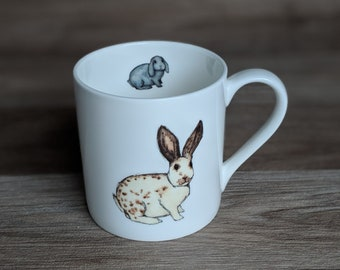 Rabbit Mug [All you need is love...and a rabbit]