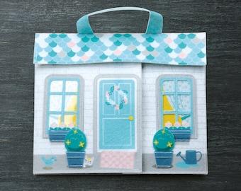 playmat felt house