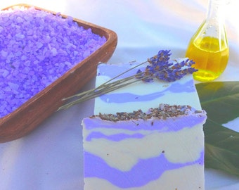 Lavender Salt Soap