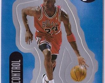 1998 MICHAEL JORDAN Upper Deck Basketball INSERT Sticker 28