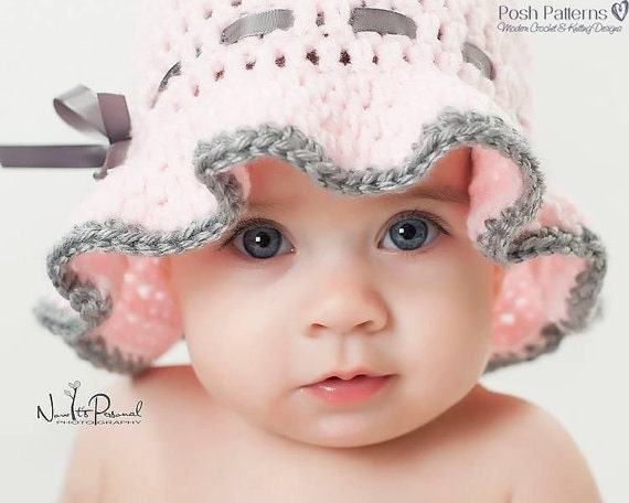 Crochet Toddler Sun Hat Pattern Free