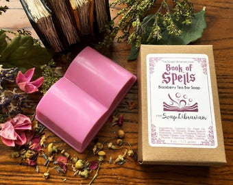 Book of Spells Bar Soap