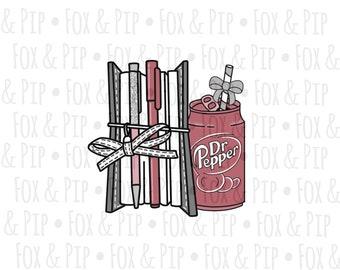Dr Pepper and Planner DIGITAL
