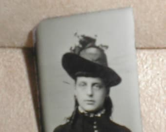 Antique Tin-Type Photo from the 1870's