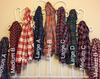 Fall Vintage Flannels