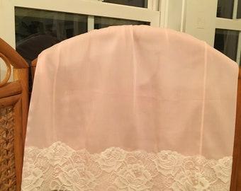 Vintage pink Pembroke 1/2 slip