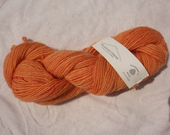 Steadfast Fibers Wonderful Wool Worsted Weight Yarn Sedona Orange 1 Skein