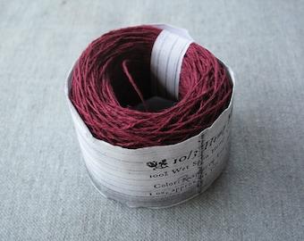 Raspberry 10/3 Hemp Yarn