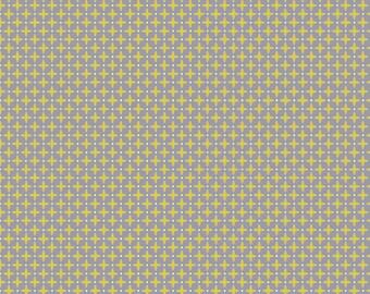 """YELLOW PLUS - ORGANIC - Knit Fabric - Monaluna Anya Knits """"Crisscross"""" - Renmant"""