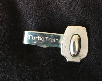 Vintage Turbo Train Tie Clip