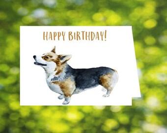 Corgi Birthday Card 3