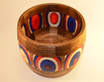 Red, White, and Blue Bowl