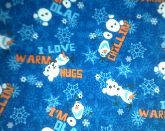"Olaf ""Warm Hugs"" Summer Print Fabric"