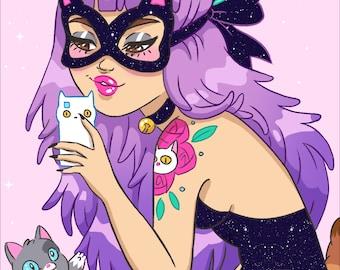 Snapchat Cat Lady