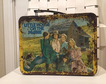 Vintage Little House on the Prairie lunchbox