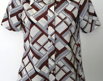 Quirky 1980s Novelty Top
