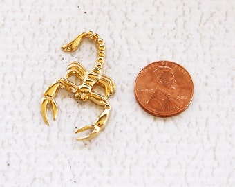 Scorpion Scorpio Zodiac Sign Symbol for Scrapbooking Jewelry and More by Tipo Charms