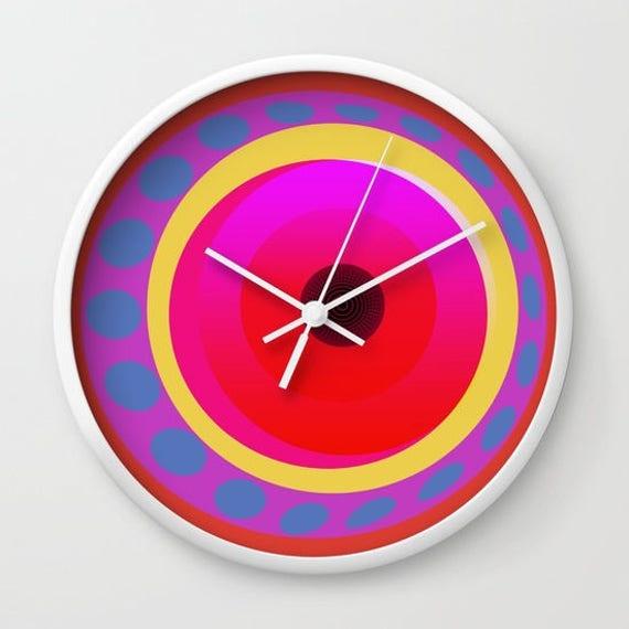Geometrical circles wall clocks-Kitchen clock-Cool office