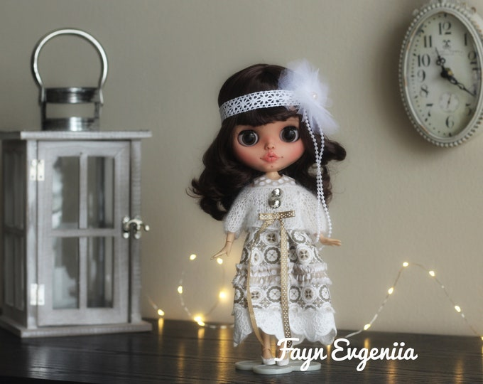 Blythe doll for sale Custom blythe OOAK  Custom doll Ooak doll Collectible doll Gift