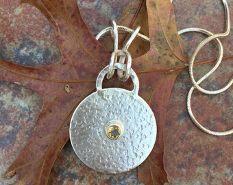 Sterling Silver Medallion