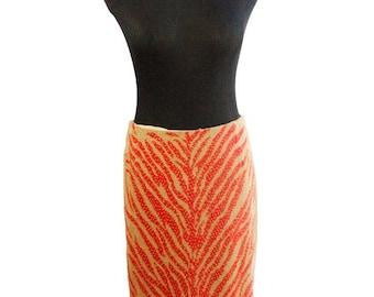 Carolina Herrera Vintage Beaded Skirt