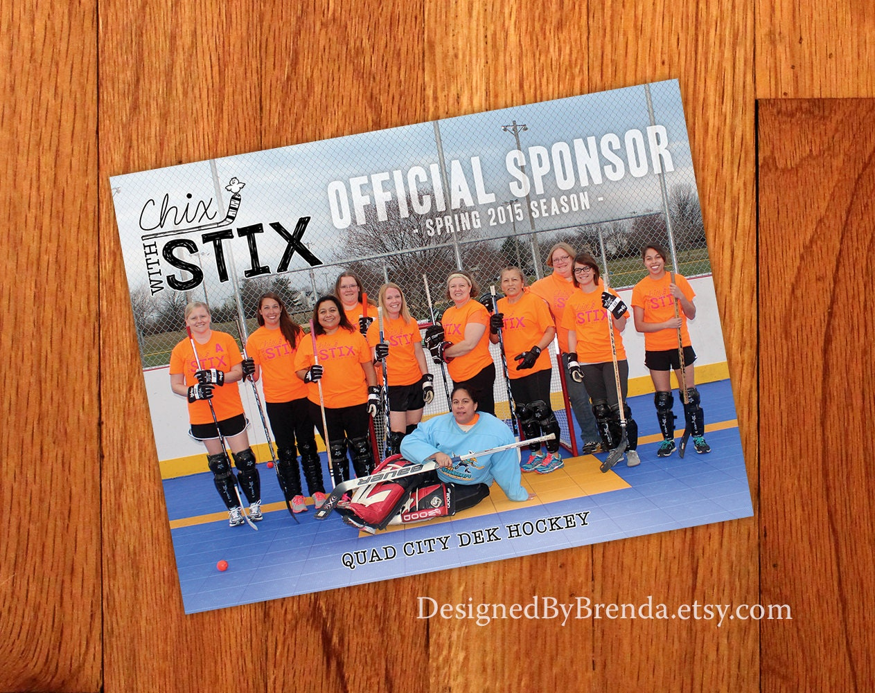 Sports team photo magnet sponsor thank you gift zoom fandeluxe Images