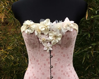 Victorian corset to BETTY gussets