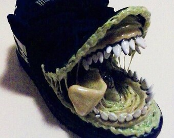 Monsterror DC Shoe, sculpture, monster, art, custom, DC