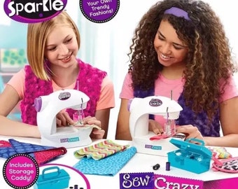Shimmer & sparkle sew crazy sewing machine and kit