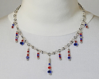 Fireworks - Handcrafted Wire Necklace