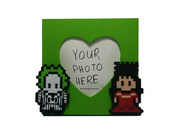 Picture Frame - Beetlejuice and Lydia Picture Frame - Photo Frame - Beetlejuice Decoration - Beetlejuice Cosplay