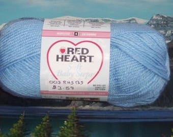 7469800 Red Heart Soft Baby Steps 5 oz Baby Blue
