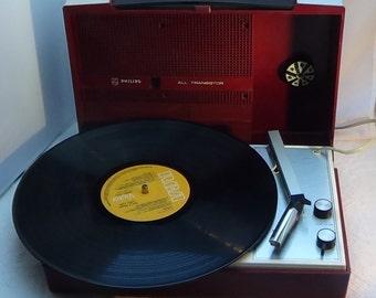Philips Dutch SUNDAY SUN REPLAY record player 1980