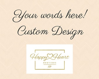 Real Gold Foil Print, Custom Gold Foil Print, Your Words in Foil, Wall Art, Quote Print, Home Decor, Silver Foil