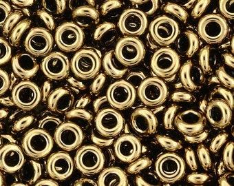 TOHO Japanese Seed Beads - Demi Round 8/0 : 221 - Bronze - 10 grams