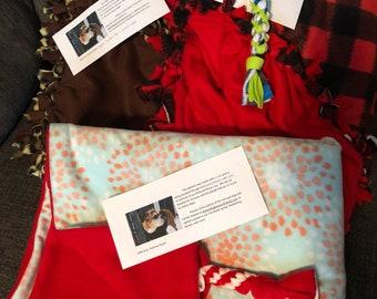 Pet Rescue Donation Blanket