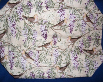 Warbler & Wisteria Placemats