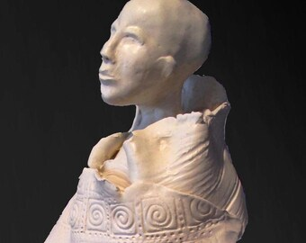 Gaia-porcelain Goddess Figure
