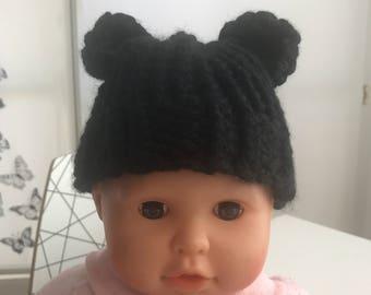 Newborn bear Hat