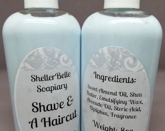 Shave & A Haircut Moisturizing Handmade Lotion