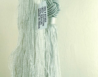 "Curtain or Drapery Tassel Tie in Pearl, Double Tassels, New Old Stock, 6.5"" Excellent Condition, NOS"