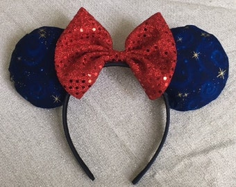 Fantasmic Inspired Minnie Mouse Ears