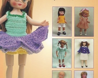 Marjory Fainges Knit and Crochet for Small Dolls Pattern Book