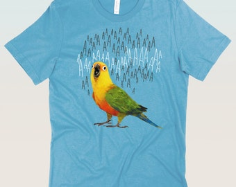 Screaming Jenday Conure T-Shirt