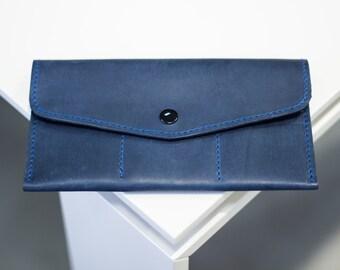 Handmade purse Unisex purse Leather purse Purse Wallet Leather wallet Wallet card Money clip wallet Handmade wallet Gift for women New purse