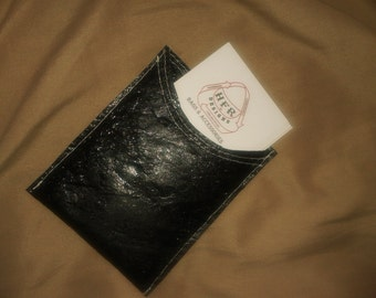 Eco Friendly business card holder